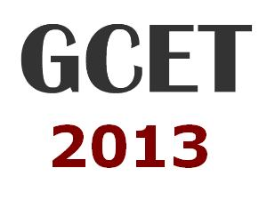 Goa CET Answer Key 2013 | GCET 2013 Answer Keys with Solutions