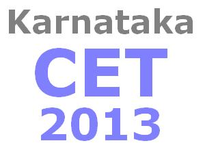 KCET 2013 Answer Keys for Mathematics, Physics, Chemistry and Biology