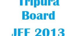 TBJEE 2013 Cutoff Marks| Tripura JEE 2013 Rank Lists